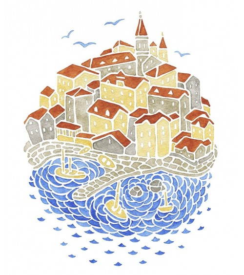 grad na moru