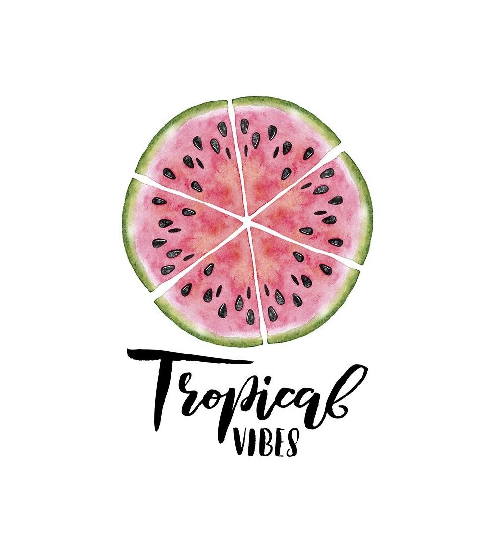 Tropical vibes poster lubenica za savremene enterijere