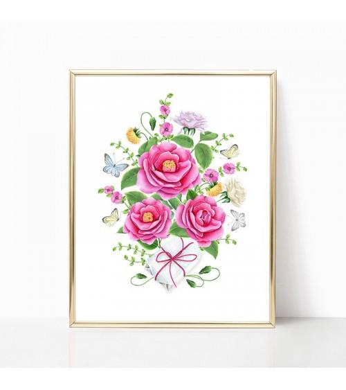 buket od ruža slike