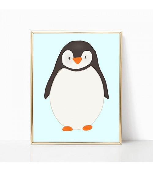 pingvin slike poster za dečiju sobu