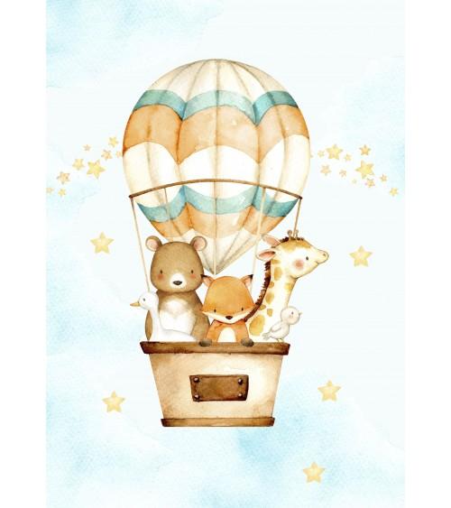 leteći balon slike za decu