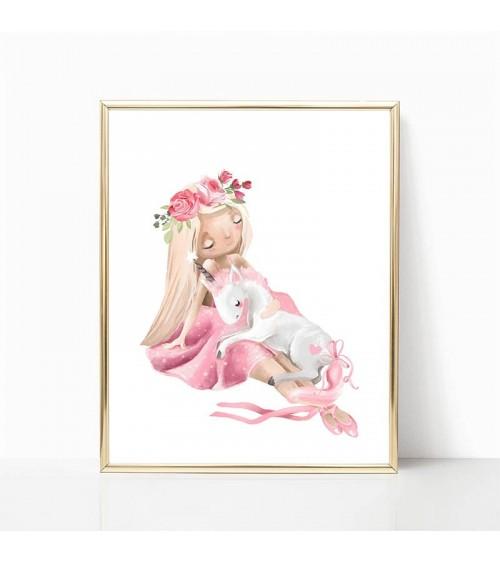 princeza i jednorog slike za devojcice