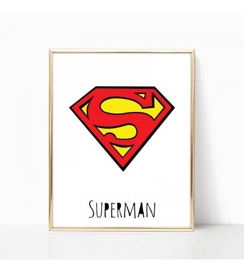 superman posteri za zid