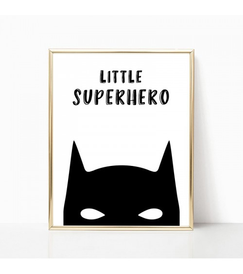 little superhero batman posteri za zid