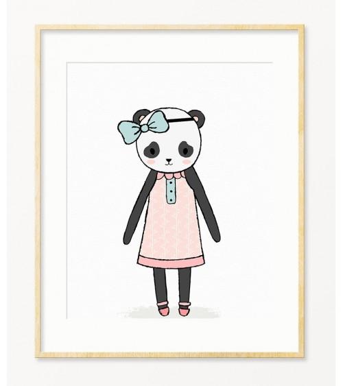 Panda Dečiji posteri za sobu devojčice online