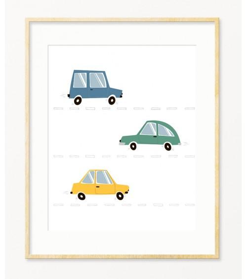 Slike za zid sa autićima