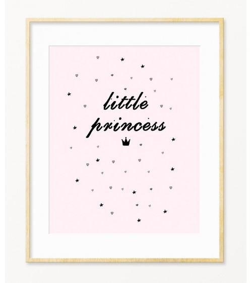 Poster sa porukom Little Princess