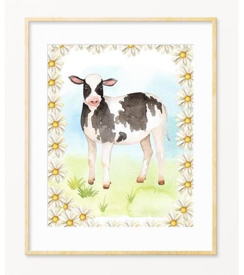 Moja kravica slike za deciju sobu