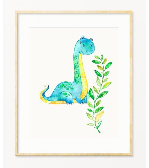 Mali Dinosaurus slike i posteri za deciju sobu