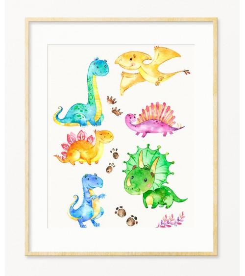 Dinosaurusi deciji posteri za zid