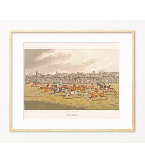Konjičke trke u Engleskoj starinske slike prodaja