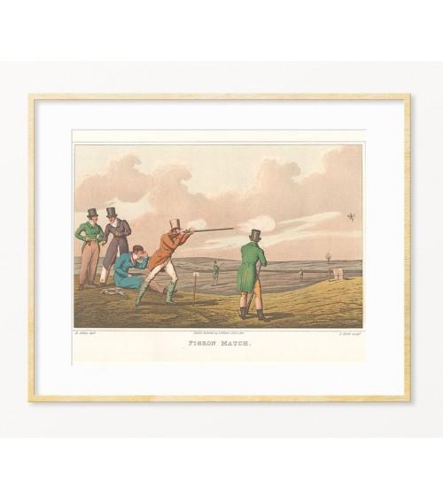 Idealan poklon za lovca - uramljena slika Vigvamija.com
