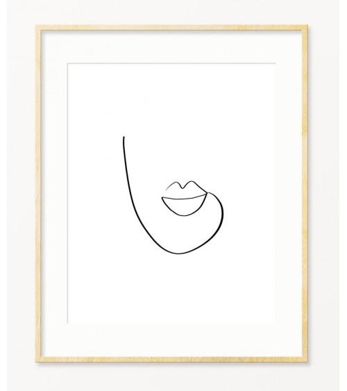 Line Art poster za sobu