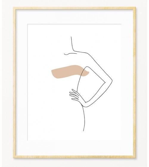 Posteri line art za SALON LEPOTE