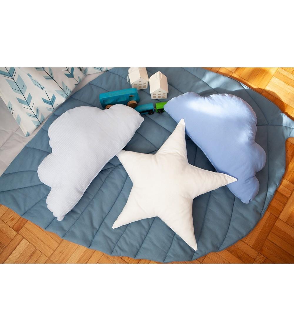 Set jastučica u plavim nijansama za dečaka