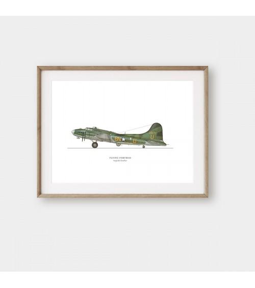 Retro vojni avioni slike i posteri za zid