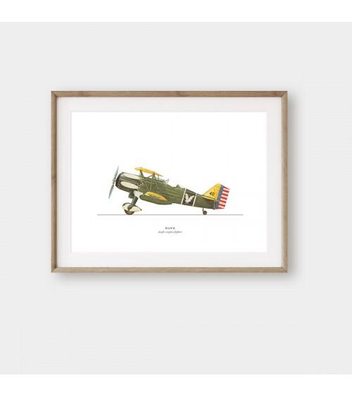 Starinski vojni avioni printovi za zid
