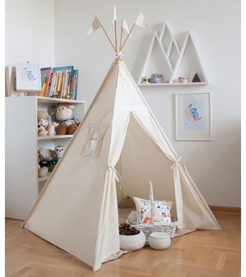 Vigvamija - indijanski teepee za dečiju sobu