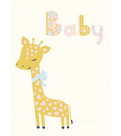 žirafa slike, slike za dečiju sobu, posteri za sobu