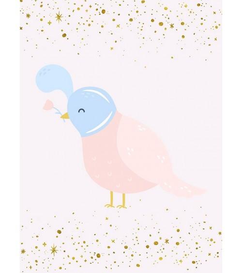 Ptice - zanimljive slike za dekoraciju dečije sobe
