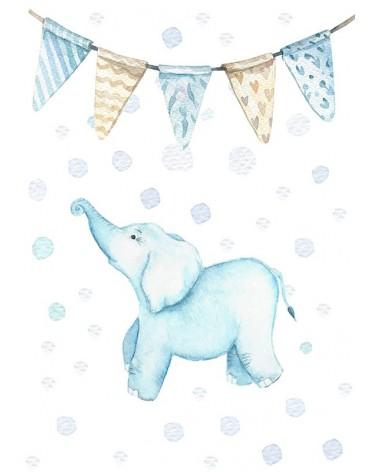 Slonče - posteri zaz bebine sobe