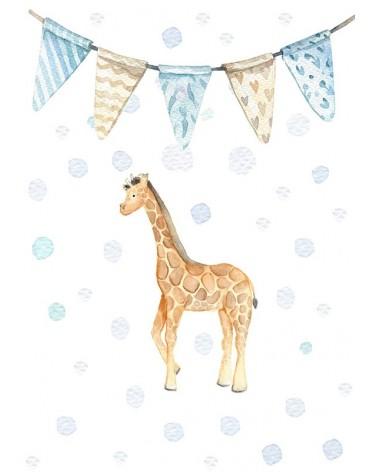 Žirafa - slike za enterijer bebine sobe
