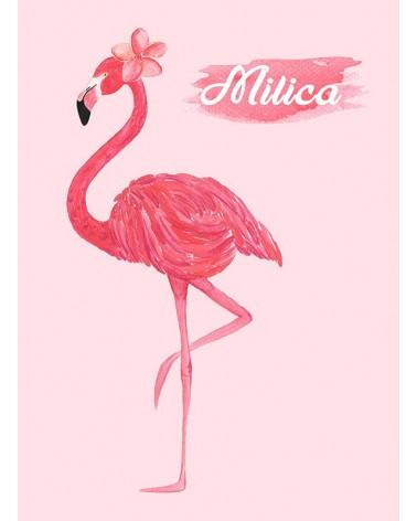 flamingo slike posteri karte rođenja