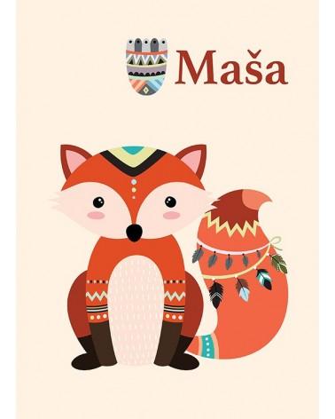 personalizovani posteri za devojčicu lisica slike