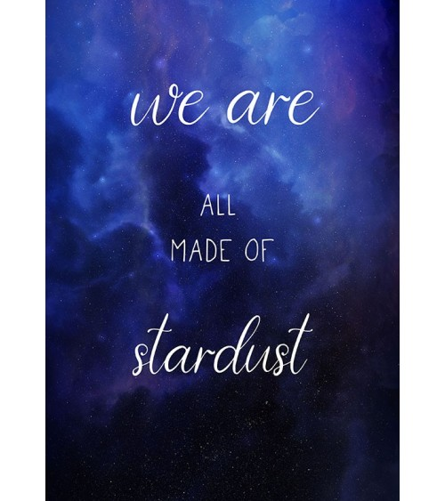 posteri sa citatom we are all made of stardust