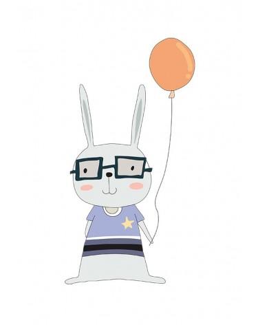 zeka i balón slike za dečiju sobu