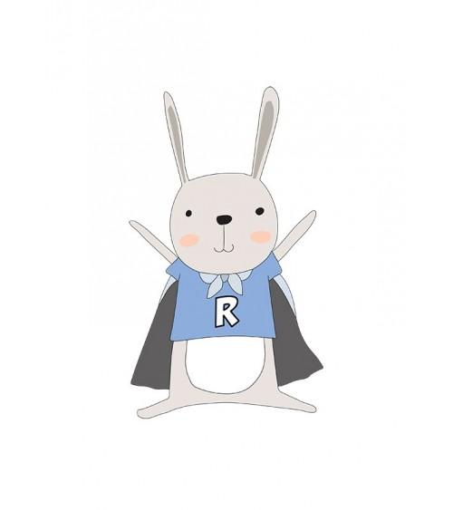 superheroj nerd rabbit