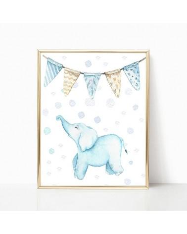 plavi slon slike