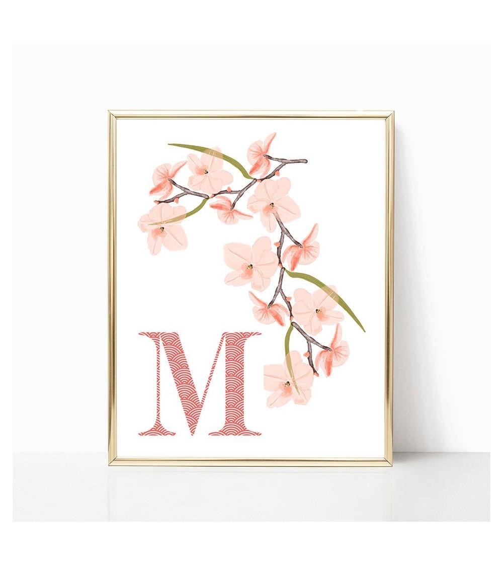 personalizovani poster orhideja