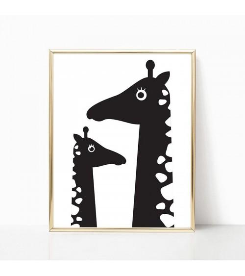 žirafa crteži