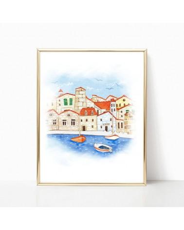 ribarsko selo slike