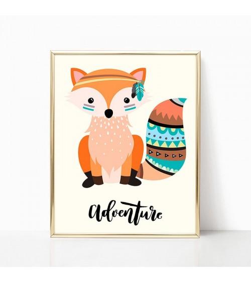 lisica posteri za decu