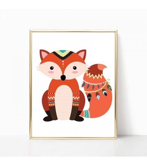 lisica crteži