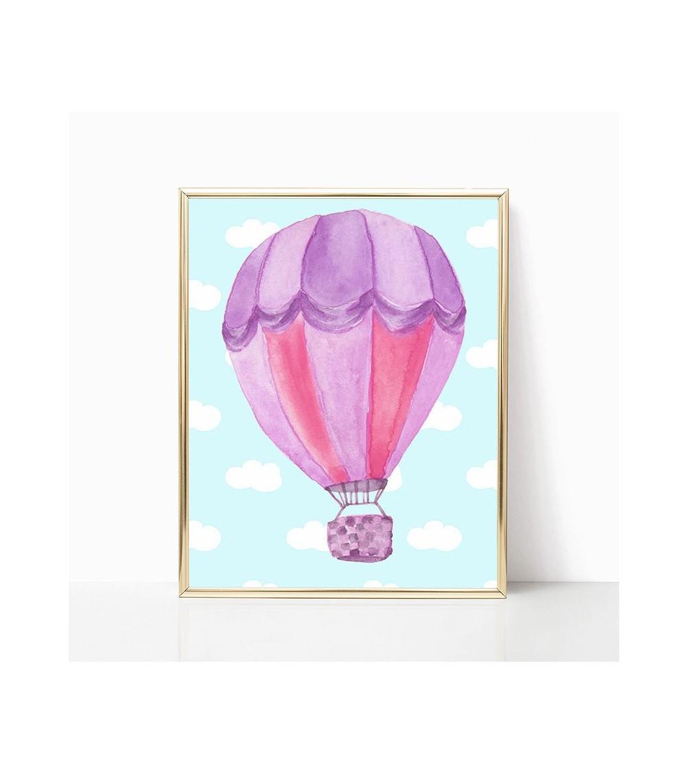 ljubičasti balon