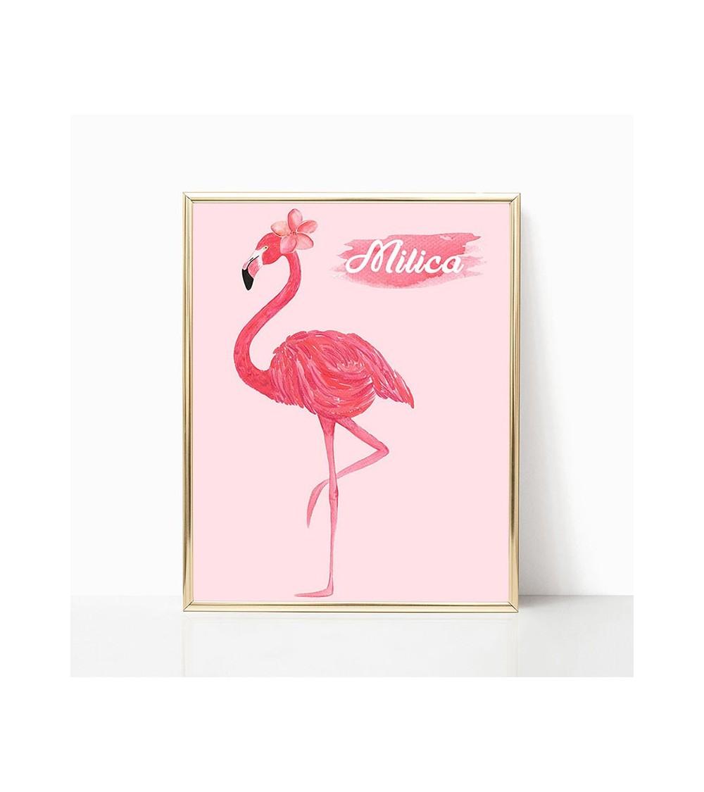 flamingo slike sa imenom