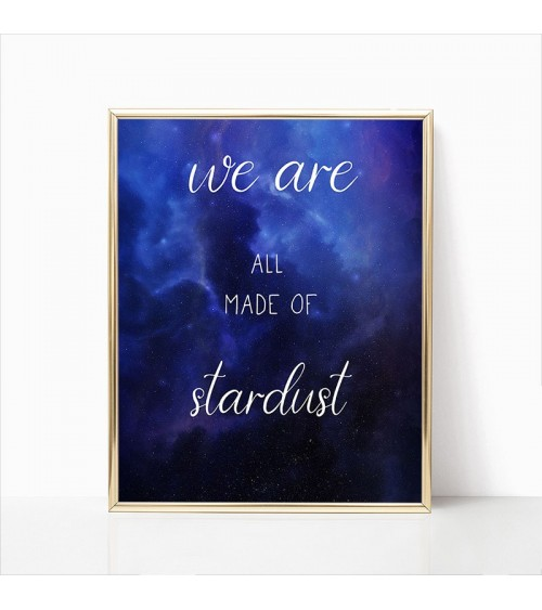 we are all made of stardust