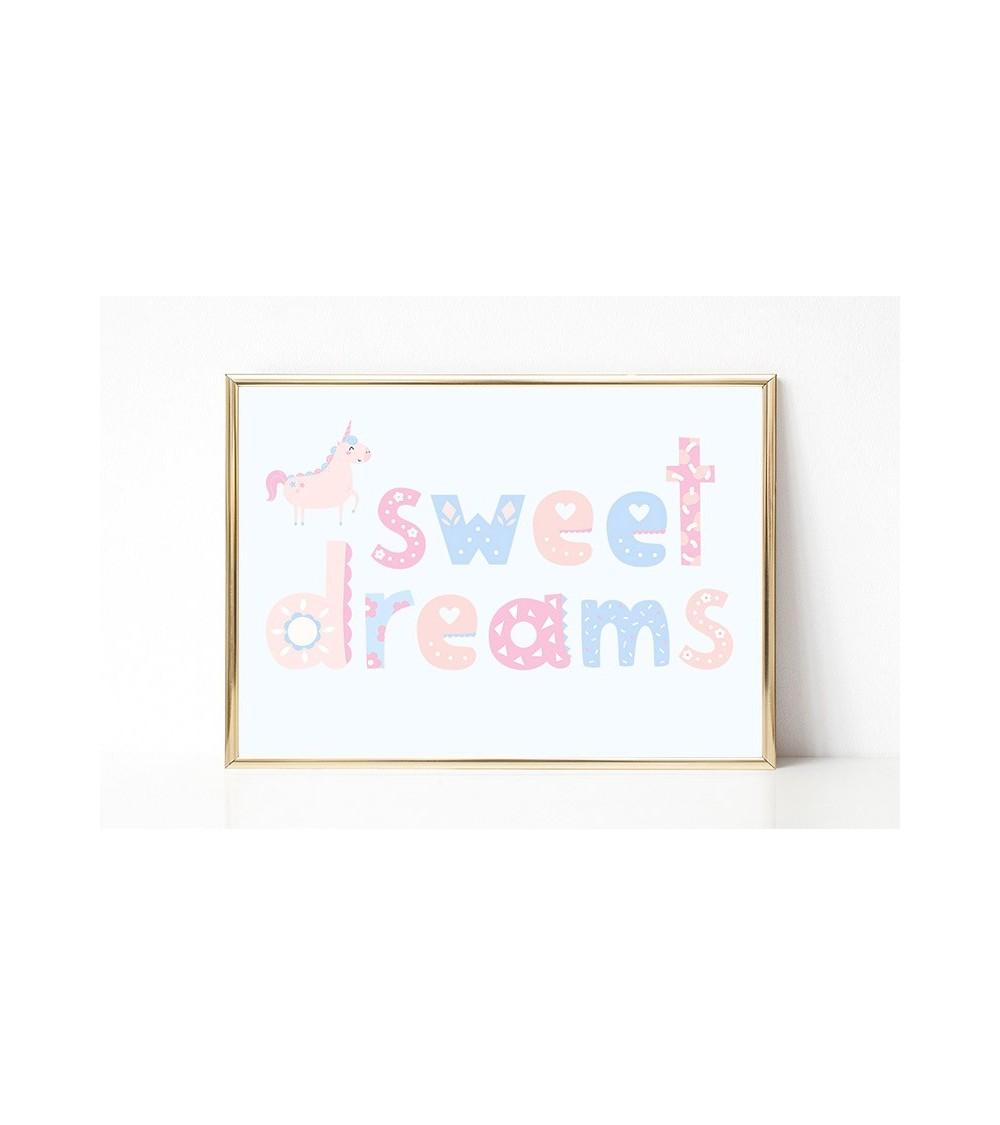 sweet dreams posteri