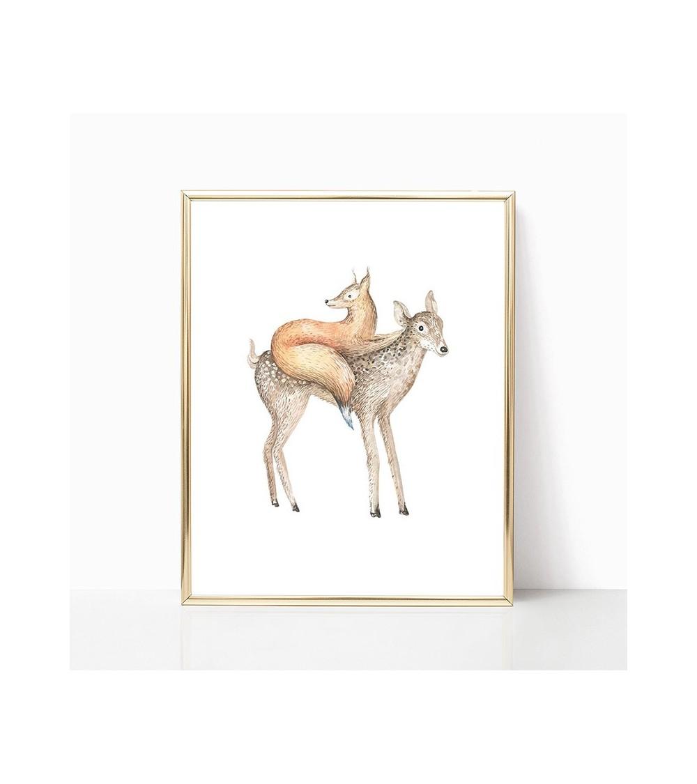 lisica i jelen slike