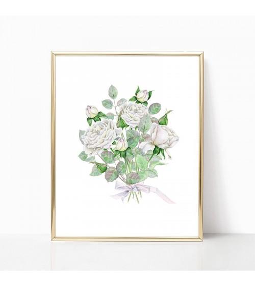 bele ruže slike
