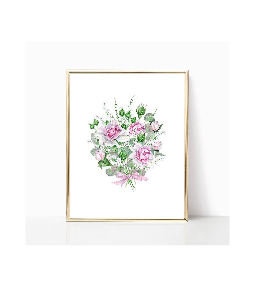roze ruže slike