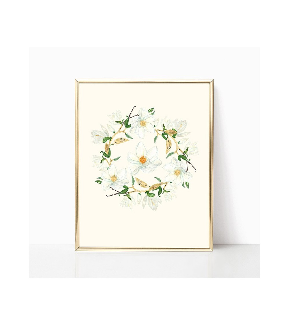 magnolija slike crteži