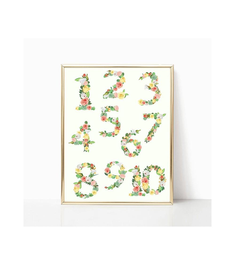 brojevi od cveća