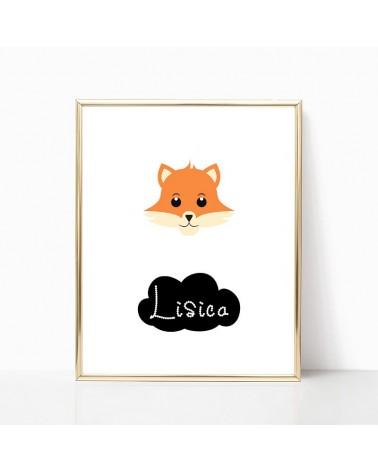 lisica crteži za decu