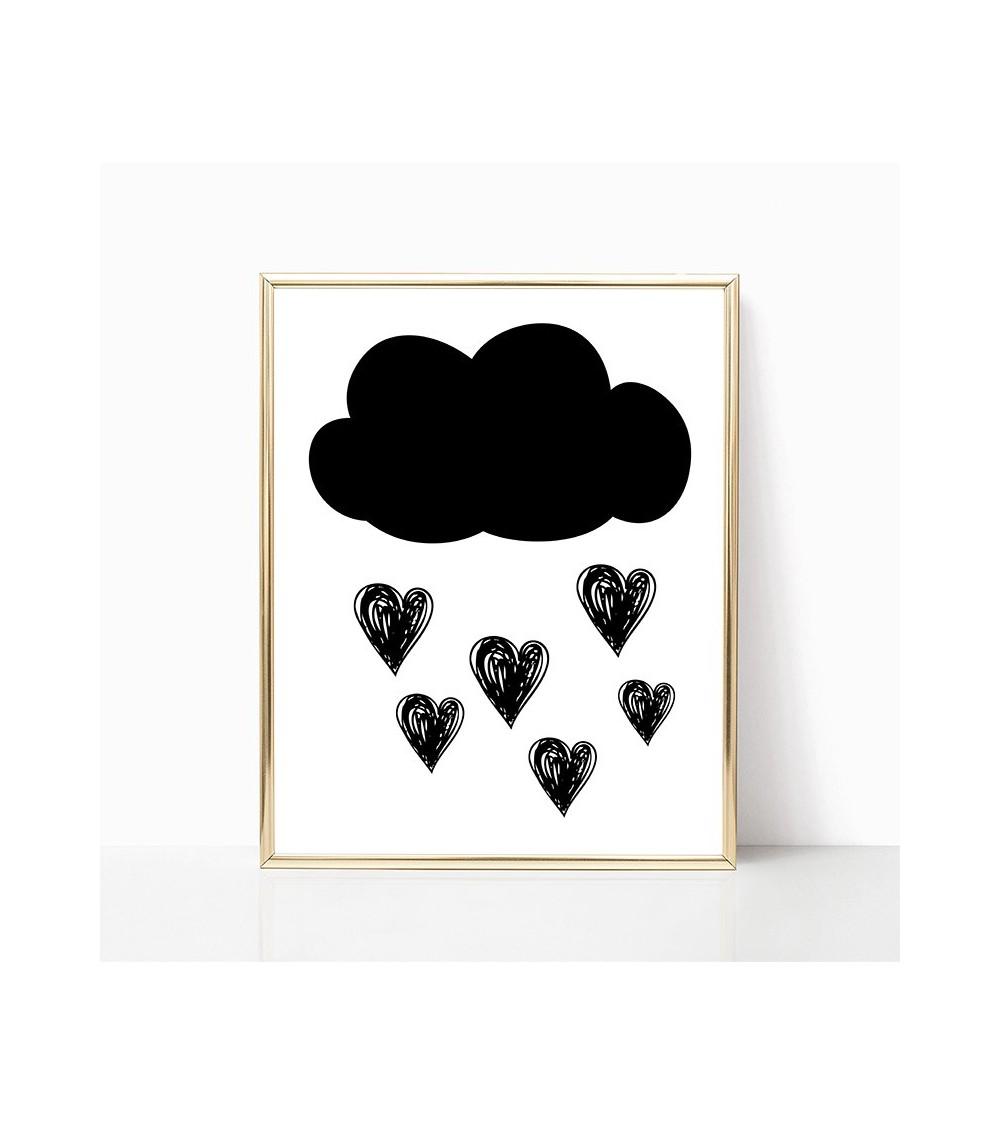 crno beli oblak slike