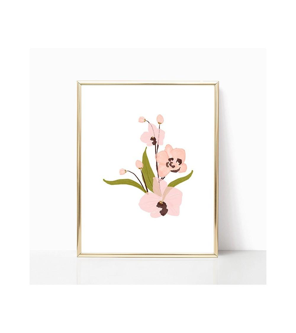 orhideja crteži