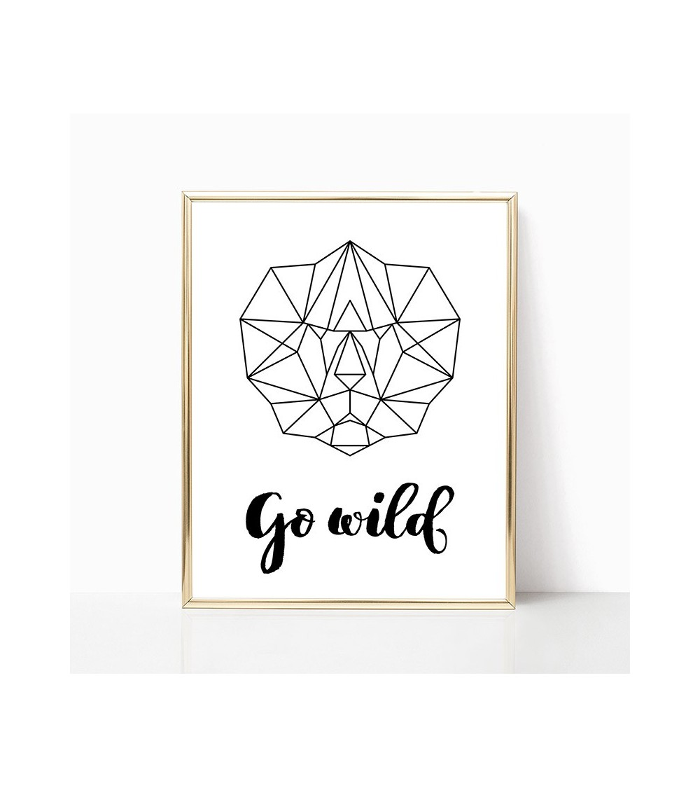 geometrijski print